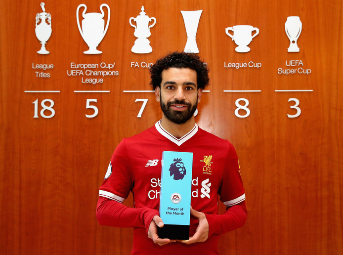 Mohamed Salah ឆ្នាំនេះឡើងកូដខ្លាំងទើបទទួលបានការតែងតាំងថ្មីមួយទៀត