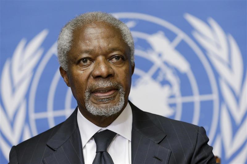 លោក Kofi Annan អតីតអគ្គលេខាធិការអង្គការសហប្រជាជាតិ ទទួលមរណភាពហើយ ក្នុងវ័យ៨០ឆ្នាំ