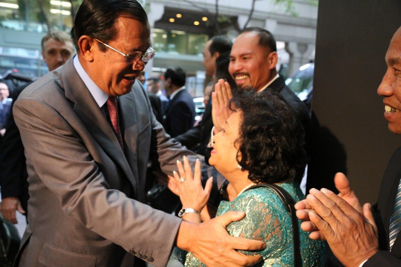 Hun Sen at UN 2