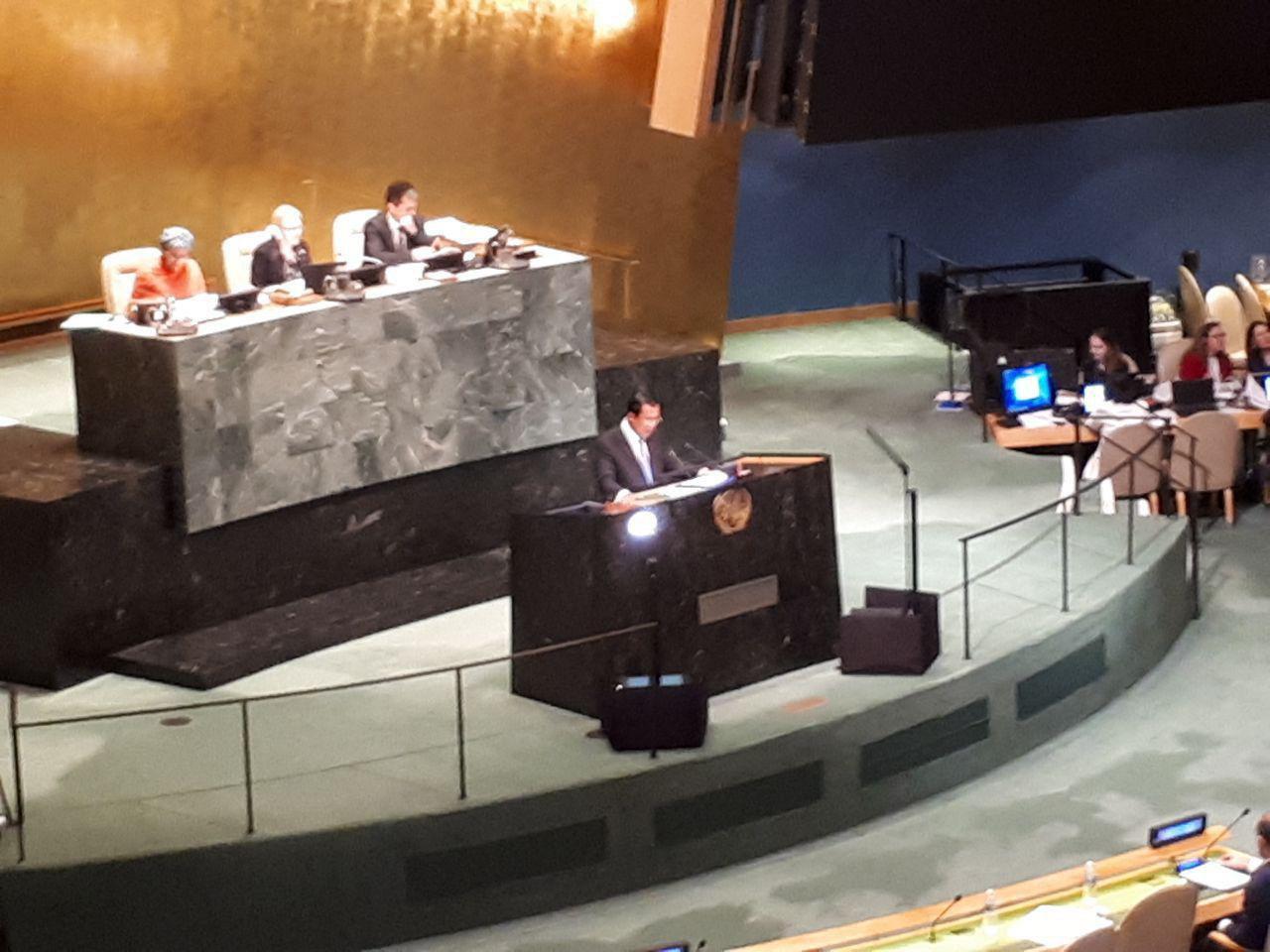 Hun Sen at UN 10