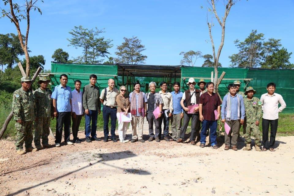 ក្រុមអ្នកជំនាញការពិសេសនៃ ICC-Angkor ចុះទស្សនកិច្ចនៅមជ្ឈមណ្ឌលស្រាវជ្រាវ និងអភិរក្សកេសរកូល សុខ អាន ភ្នំគូលែន