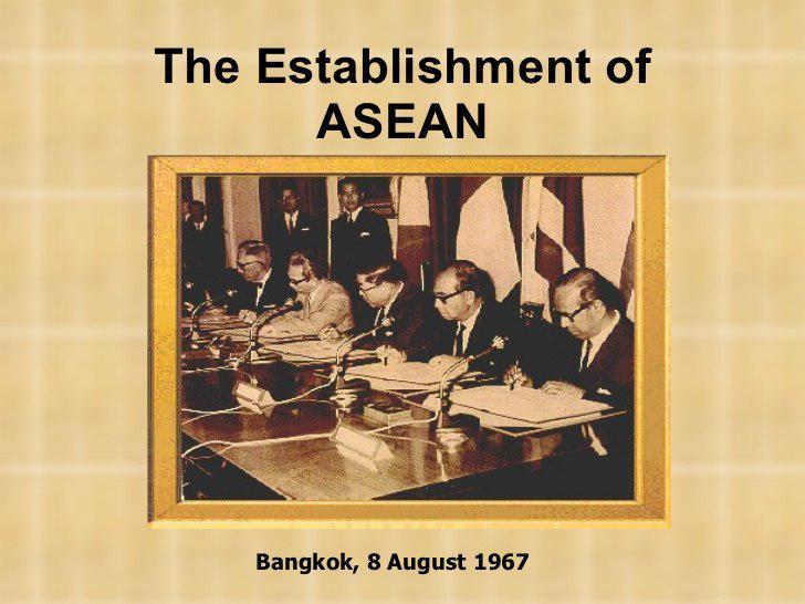 ស្វែងយល់ពីប្រវត្តិនៃសមាគមប្រជាជាតិអាស៊ីអាគ្នេយ៍ (ASEAN)