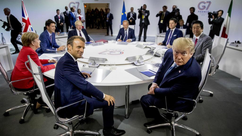 លោក ត្រាំ ពិចារណារៀបចំការប្រជុំ G7 ទល់មុខ